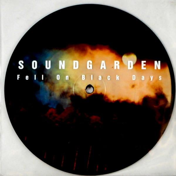"""SOUNDGARDEN fell on black days - pic disc 7"""""""