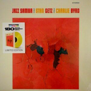 GETZ, STAN & CHARLIE BYRD jazz samba - col vinyl LP