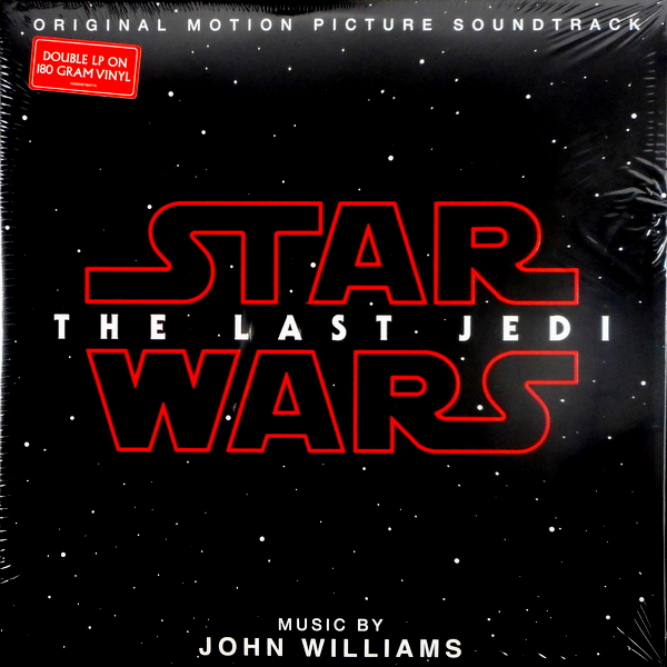 WILLIAMS, JOHN star wars - the last jedi LP