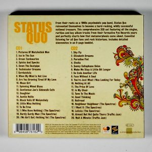STATUS QUO the very best of the early years CD back