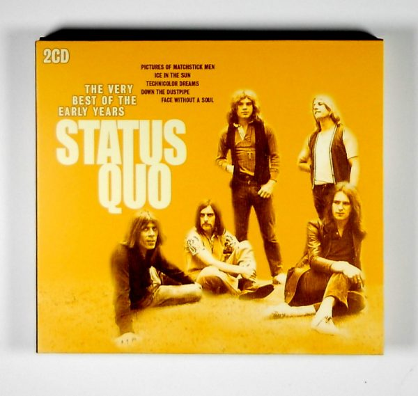 STATUS QUO the very best of the early years CD