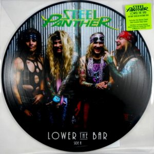STEEL PANTHER lower the bar - pic disc LP