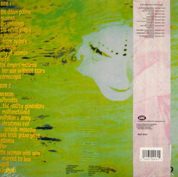 STEVE KILBEY earthed LP back