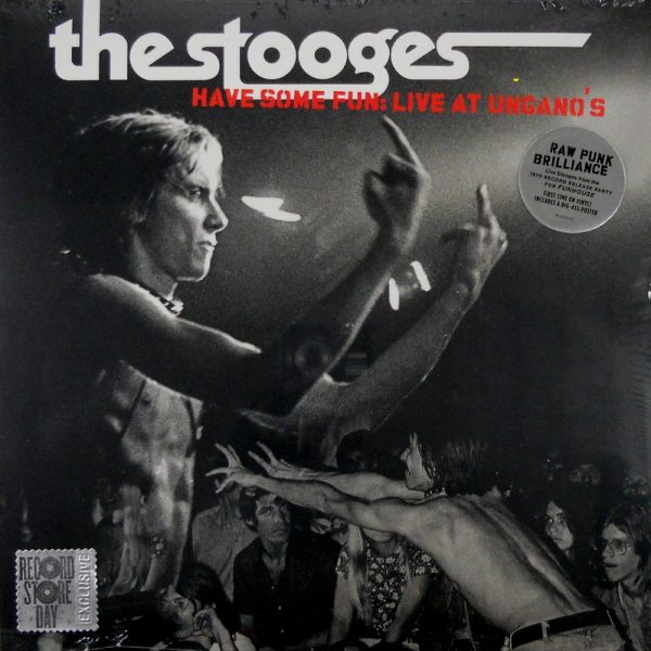 IGGY AND THE STOOGES have some fun - live at ungano's LP
