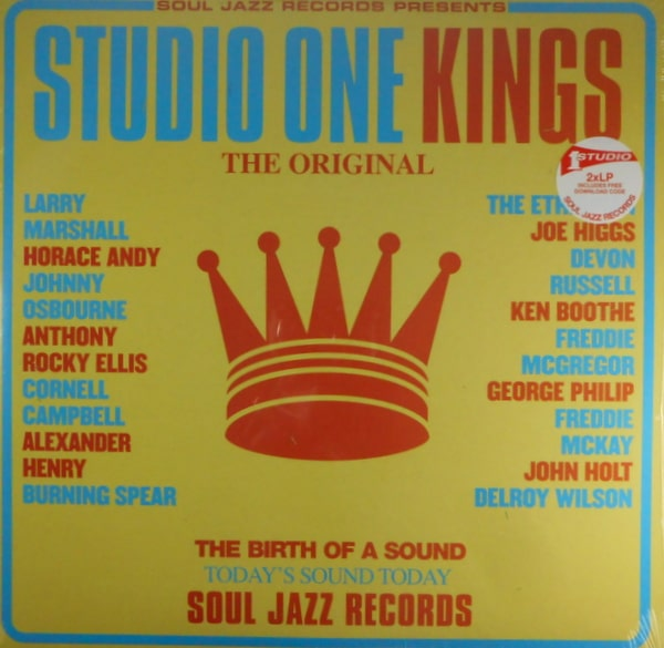 VARIOUS ARTISTS studio one kings LP