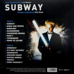 SERRA, ERIC subway LP