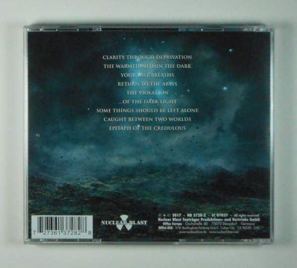 SUFFOCATION of the dark night CD