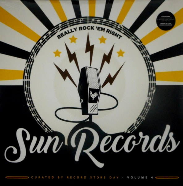 VARIOUS ARTISTS sun records - really rock 'em right LP