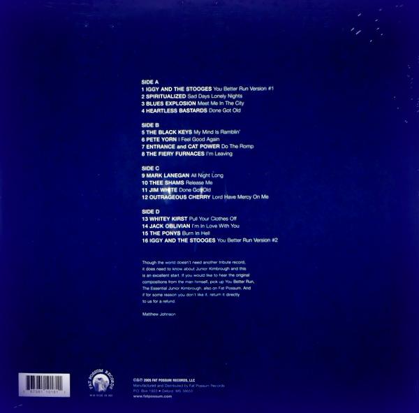 VARIOUS ARTISTS Sunday nights - the music of Junior Kimbrough LP