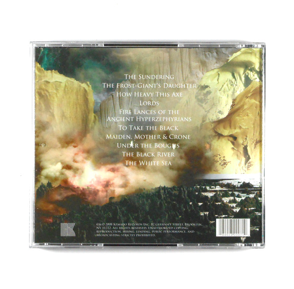 SWORD, THE gods of the earth CD
