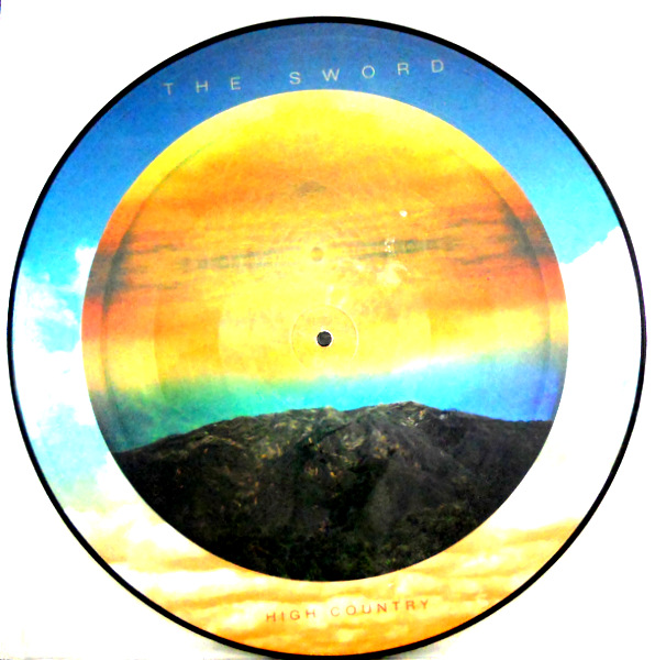 SWORD, THE high country - pic disc LP
