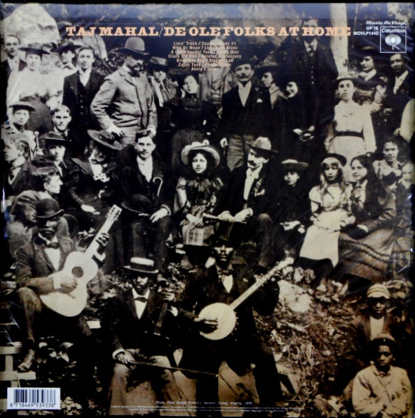 TAJ MAHAL giant step / de ole folks at home LP