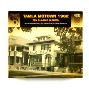 VARIOUS ARTISTS tamla motown 1962 CD