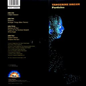 TANGERINE DREAM particles LP