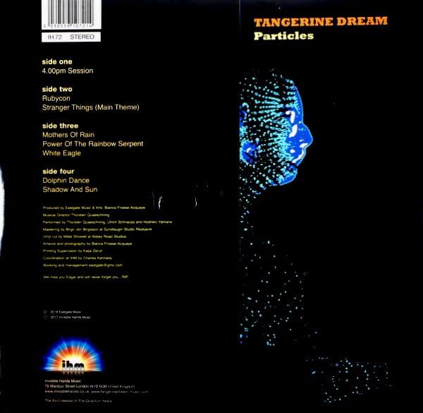 TANGERINE DREAM particles LP