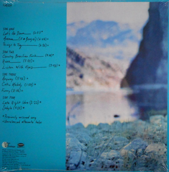 REID, TERRY the other side of the river LP