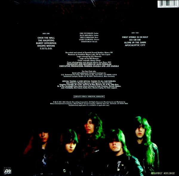 TESTAMENT testament - col vinyl LP