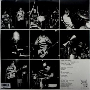 THEE OH SEES live in san francisco LP