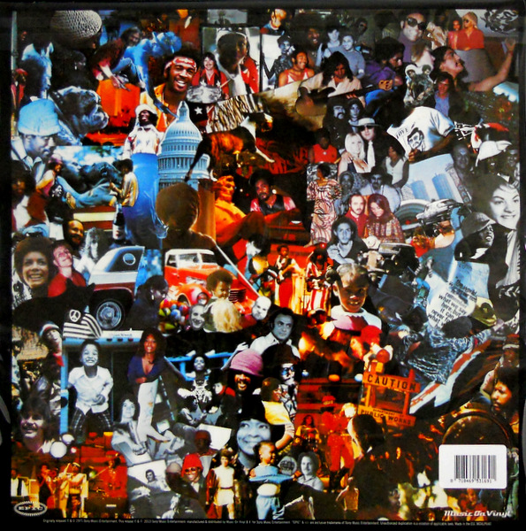 SLY & THE FAMILY STONE there's a riot goin' on LP back