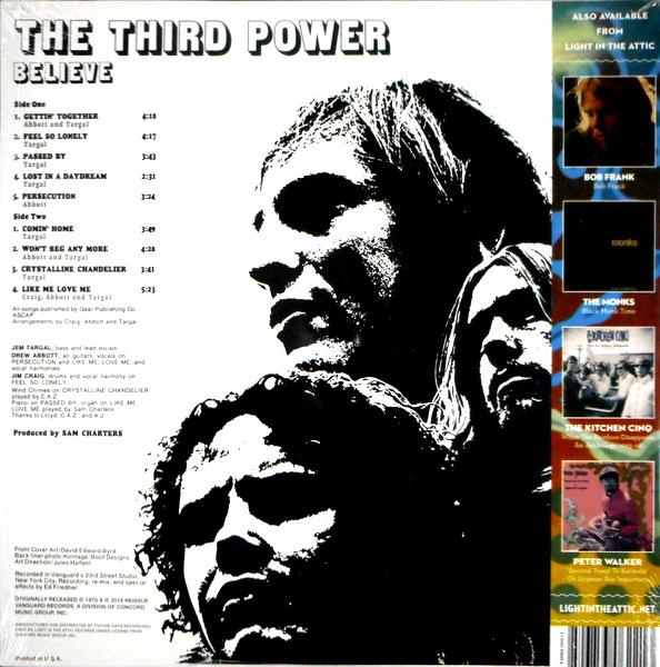 THIRD POWER, THE believe LP