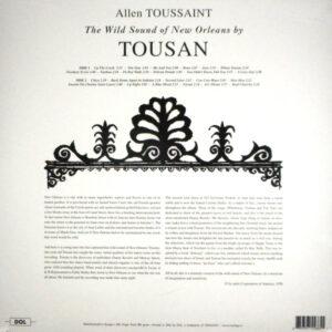 TOUSSAINT, ALLEN the wild sounds of new orleans LP