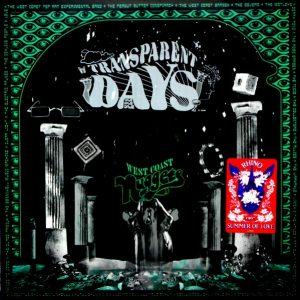 VARIOUS ARTISTS transparent days - west coast nuggets LP