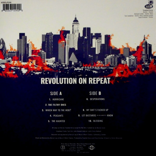 TROUBLED HORSE revolution on repeat LP