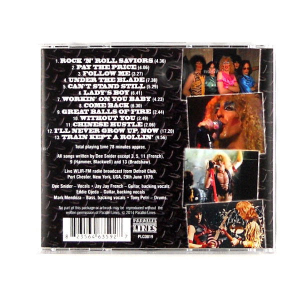 TWISTED SISTER fighting for the rockers CD