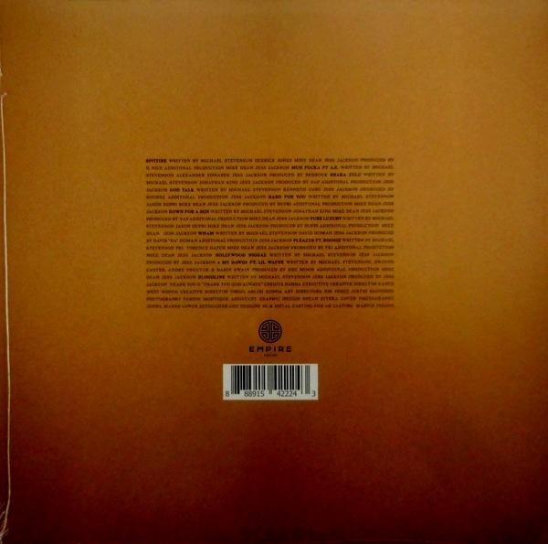 TYGA the gold album - 18th dynasty LP
