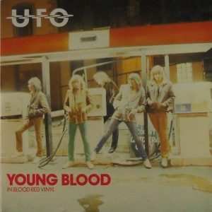 ufo young blood 7 inch single