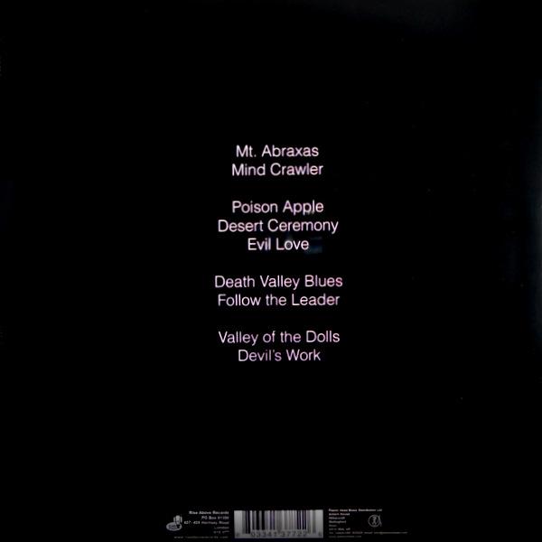 UNCLE ACID & THE DEADBEATS mind control LP back