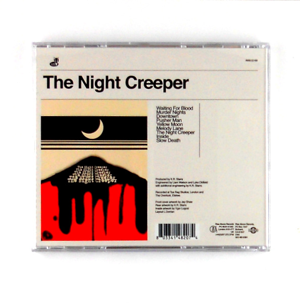 UNCLE ACID the night creeper CD back