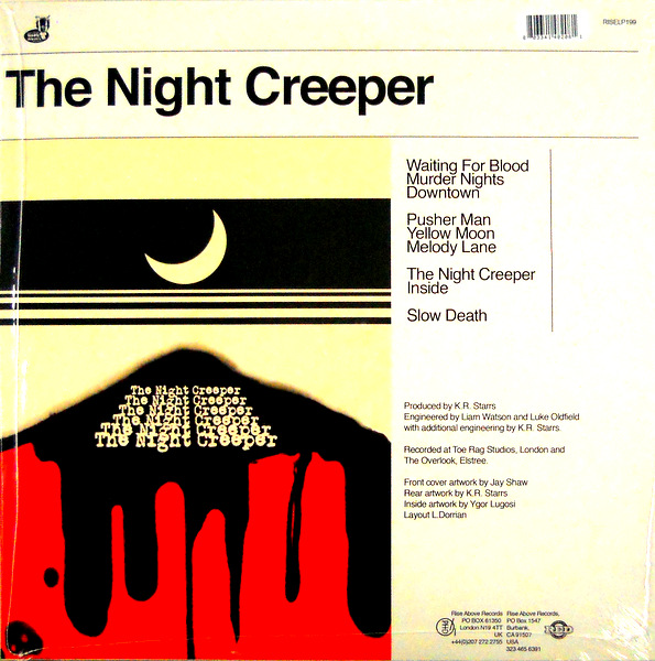 UNCLE ACID the night creeper LP abck