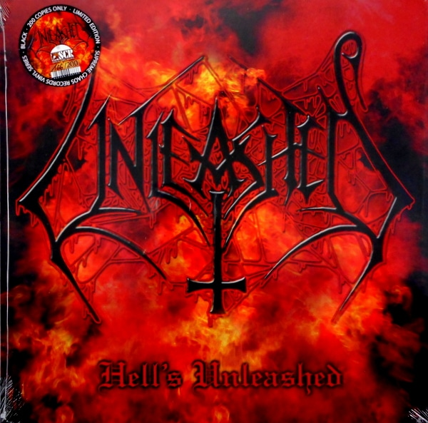 UNLEASHED hell's unleashed LP