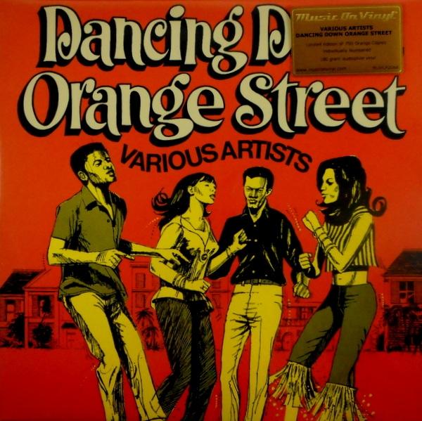 VARIOUS ARTISTS dancing down orange street LP