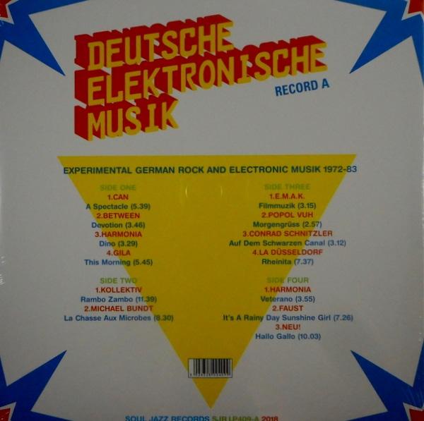 VARIOUS ARTISTS deutsche elektronische musik - vol 1 Part A LP