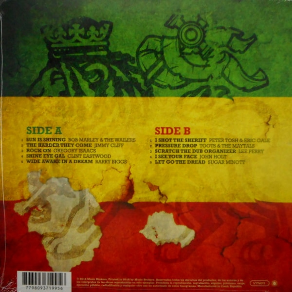 VARIOUS ARTISTS reggae roots vibration LP