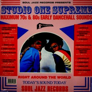 VARIOUS ARTISTS studio one supreme LP