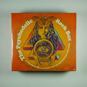 VARIOUS ARTISTS the psychedelic rock box CD