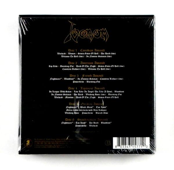 VENOM assault - CD box set