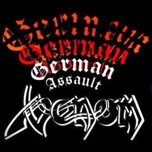 VENOM german assault LP