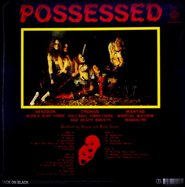 VENOM possessed - col vinyl LP