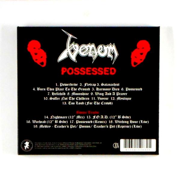 VENOM possessed CD