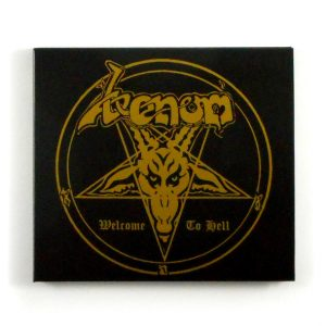 VENOM welcome to hell CD