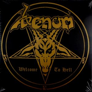 VENOM welcome to hell - col vinyl LP