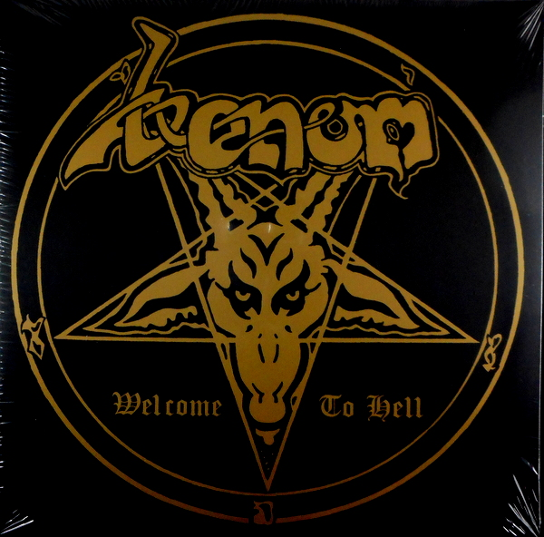 VENOM welcome to hell - col vinyl LP