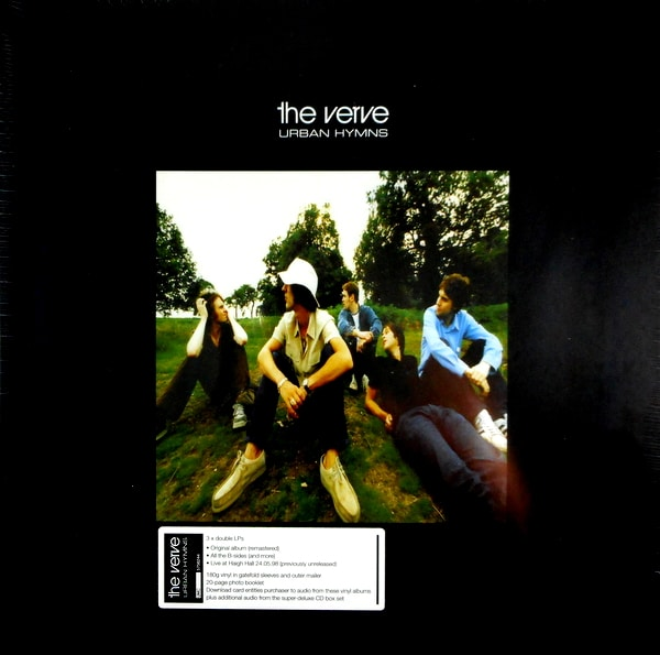 VERVE , THE urban hymns - deluxe LP box LP