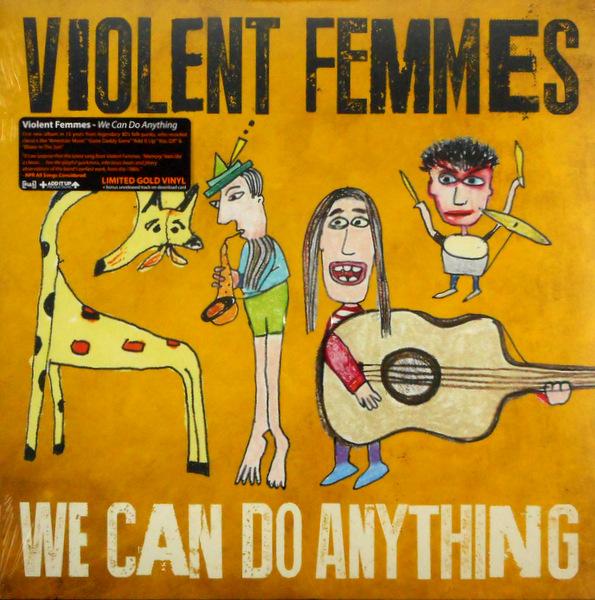 VIOLENT FEMMES we can do anything - gold vinyl LP