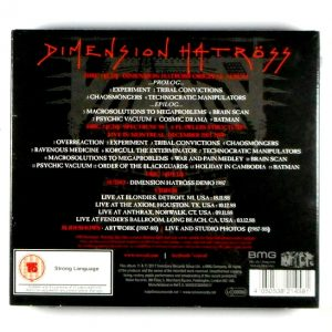 VOIVOD dimension hatross - deluxe CD CD