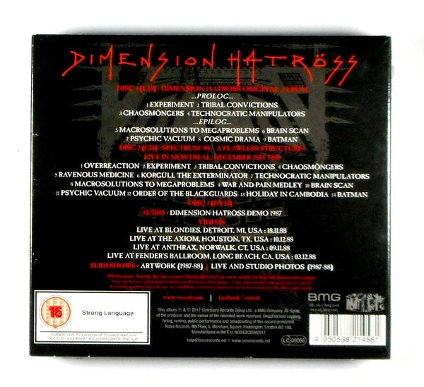 VOIVOD dimension hatross - deluxe CD CD